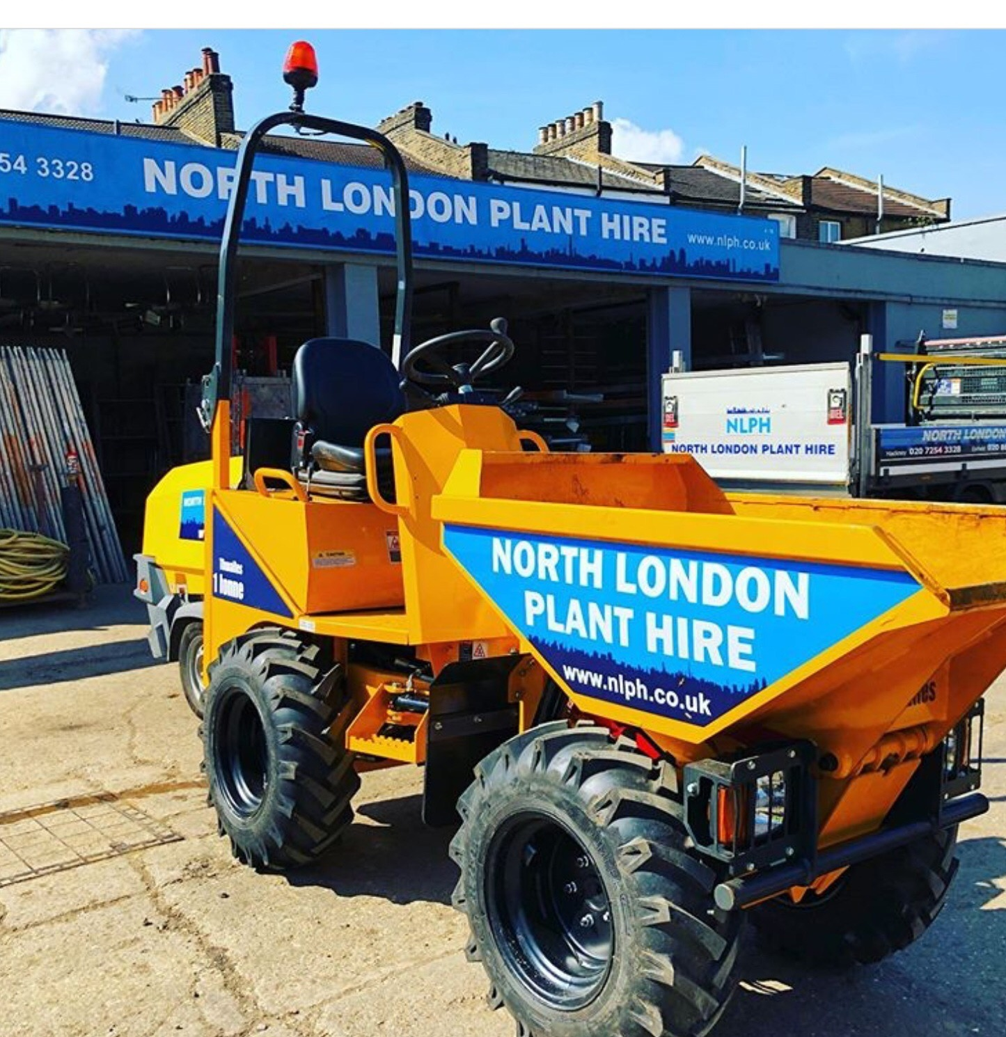 Thwaites One Tonne Hi Tip North London Plant Hire