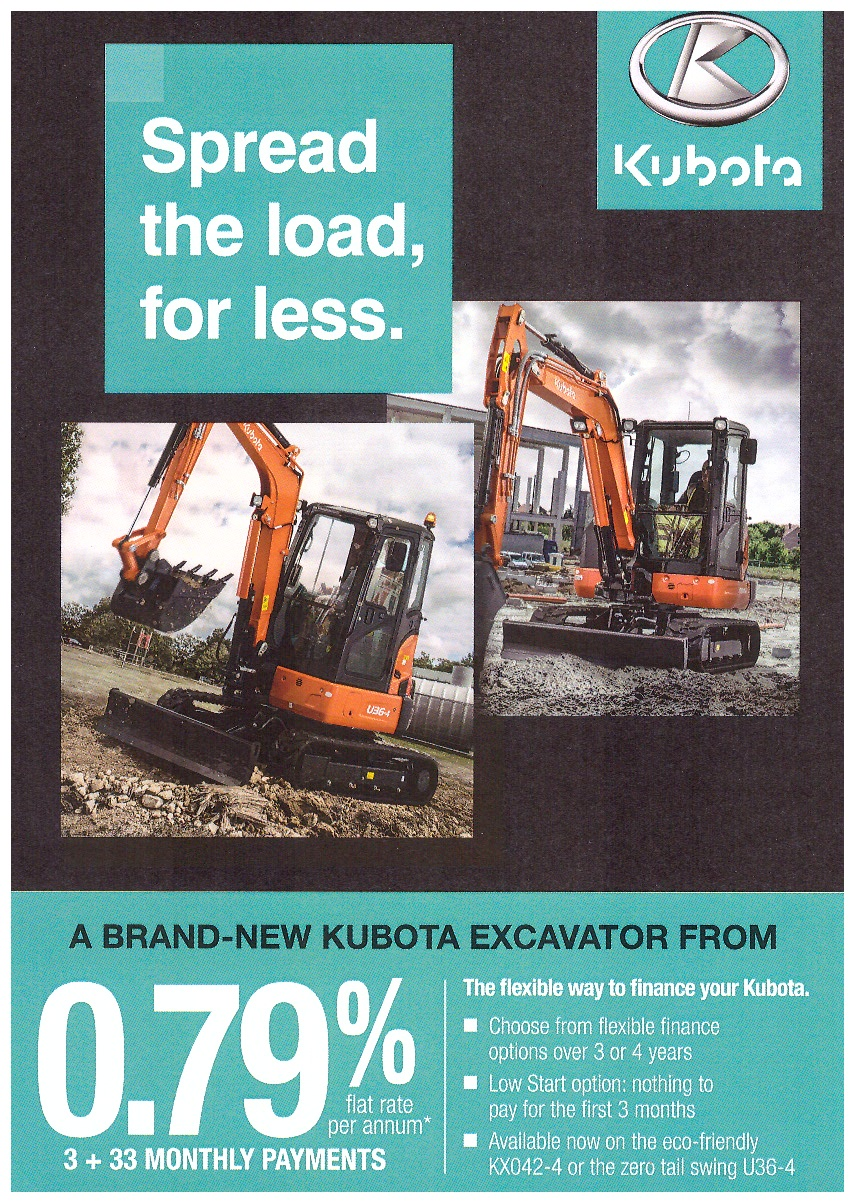 Kubota spread the load for less