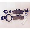 THWAITES BRAKE PAD KIT PART