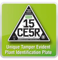 ID Plate Triangle