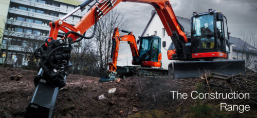 Kubota Construction Range Brochure