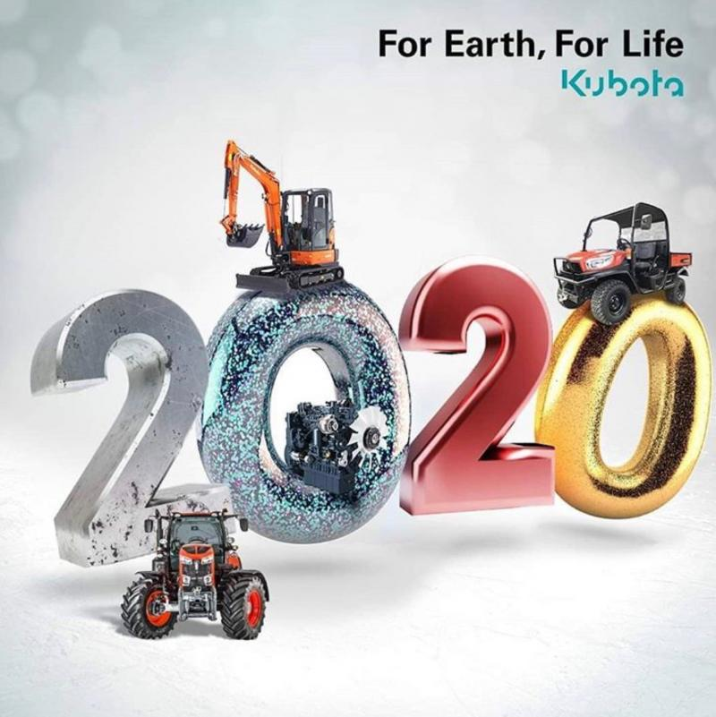 Kubota 2020 Happy New Year