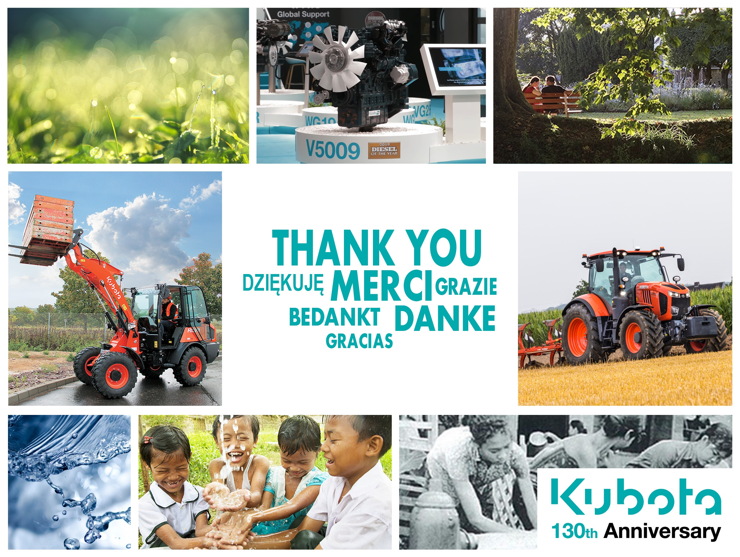 Kubota  130th Anniversary
